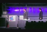 Still frame from: Steve Jobs keynote at Siggraph '95