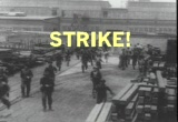 Still frame from: Ironworkers Strike