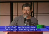Still frame from: Stan Goff: Is the US Liberating Iraq?