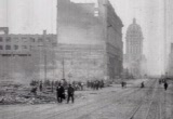 Still frame from: San Francisco Earthquake footage
