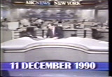Still frame from: SEG NO.1: NEWSHOUR 12:15 PM, N/A, CNN,  (19901211); SEG. NO.2: NEWSDAY 2:10 PM, N/A, CNN,  (19901211); SEG. NO.3: CNN EARLY PRIME, N/A, CNN,  (19901211); SEG. NO.4: EYEWITNESS NEWS, WUSA-TV, CBS, WASHINGTON, DC (19901211); SEG. NO.5: ABC WORLD NEWS TONIGHT; 6:30PM, WJLA-TV, ABC, WASHINGTON, DC (19901211); SEG. NO.6: THE WORLD TODAY, N/A, CNN,  (19901211).; SEG NO.7: EYEWITNESS NEWS, WUSA-TV, CBS, WASHINGTON, DC (19901211); SEG. NO.8: CBS EVENING NEWS,  CBS,  (19901211); SEG. NO.9: CHANNEL 5 TEN O'CLOCK NEWS, WTTG-TV, FOX, WASHINGTON, DC (19901211); SEG. NO.10: GOOD MORNING AMERICA,  ABC,  (19901212); SEG. NO.11: FOX MORNING NEWS, WTTG-TV, FOX, WASHINGTON, DC (19901212); SEG. NO.12: WORLD NEWS THIS MORNING,  ABC,  (19901212),; SEG NO.13: CBS THIS MORNING,  CBS,  (19901212); SEG. NO.14: HEADLINE NEWS 4:00 PM, N/A, CNN,  (19901211)