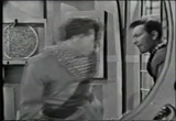 Still frame from: 'Tom Corbett, Space cadet' - Pursuit of the deep space projectile (1955)