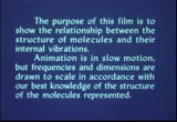 Still frame from: Vibration of Molecules
