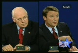 Still frame from: Vice Presidential Debate - October 5, 2004