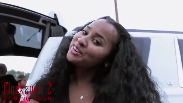 Is This Waka Flocka's WIFE, First Lady Of BrickSquad? (Rappers Cuffing Chicks The New Trend?)