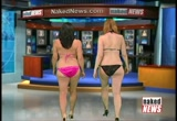 Still frame from: Naked News In Brief 11/03/2011