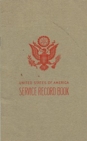 united states of america service record book herbert booker free
