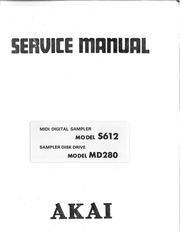 Akai S612 Bedienungsanleitung Druck