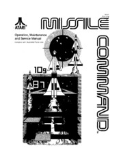 Arcade Game Manual: Missile Command by Atari : Free Download, Borrow on bosconian atari, combat atari, wizard of wor atari, pacman atari, space war atari, plaque attack atari, fatal run atari, astroblast atari, solaris atari, defender atari, mappy atari, aquaventure atari, pele's soccer atari, warlords atari, e.t. the extra-terrestrial atari, breakout atari, space invaders atari, adventure atari, berzerk atari, pepsi invaders atari,