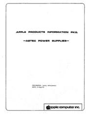 Apple Schematics: Astec Power Supplies Aug82 : Free Download, Borrow ...