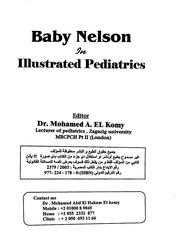 Pediatrics Baby Nelson Mohamed El Komy Free Download Borrow And
