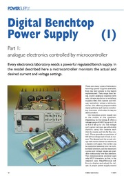 Digital Benchtop Power Supply 1 : Free Download, Borrow, and