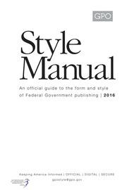asa publications handbook and style manual