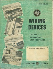 general electric wiring devices general electric company free rh archive org ge wiring devices catalog