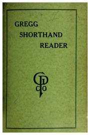 Gregg Shorthand Reader 1912 John Robert Gregg Free Download
