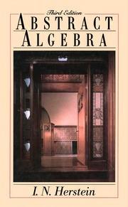 HERSTEIN MODERN ALGEBRA PDF DOWNLOAD