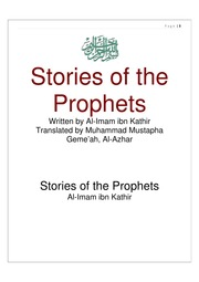 stories of the prophets by ibn kathir free download
