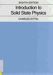 introduction to solid state physics charles kittel 8th edition rh archive org Intro to Physics Intro to Physics