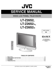 service manual jvc mk lt z26s2 lcd tv free download borrow and rh archive org Manual TV JVC Rmc406 JVC TV Owners Manuals