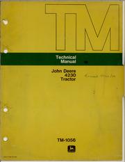 john deere 4230 tractor technical manual tm 1056 john deere rh archive org john deere 4230 service manual download john deere 4210 service manual