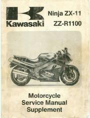 kawasaki ninja zx 11 zz r1100 motorcycle service manual supplement rh archive org kawasaki zx 11 service manual pdf kawasaki zx 11 service manual pdf
