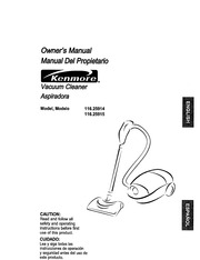 kenmore aspiradora 116 25914 vacuum cleaner user manual kenmore rh archive org kenmore progressive vacuum cleaner owner's manual Sears Canister Vacuum Cleaners