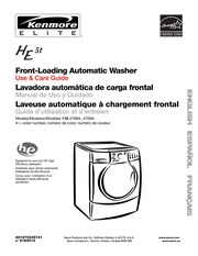 kenmore elite he5t washer user manual kenmore free download rh archive org Kenmore Washer Model 110 Kenmore Washer Troubleshooting