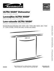 kenmore ultra wash 665 1602 dishwasher user manual kenmore free rh archive org kenmore ultra wash dishwasher model 665 parts manual kenmore elite dishwasher model 665 manual