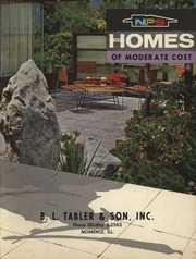 Fire proof construction for houses and other buildings of for National homes corporation floor plans