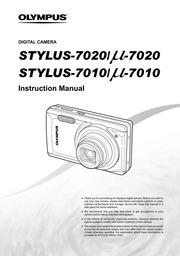 olympus stylus 7010 7010 digital camera user manual olympus rh archive org Olympus Stylus Manual PDF Olympus Body Camera Vector