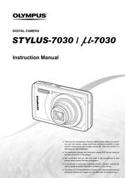 olympus stylus 7030 digital camera user manual olympus free rh archive org Olympus Stylus 1010 Olympus Stylus 6020