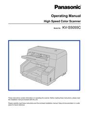panasonic kv s5055c scanner user manual panasonic free download rh archive org Panasonic Scanner 1027 Panasonic Document Scanner