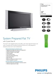 philips 23hf5473 flat panel television user manual free download rh archive org Philips Instruction Manuals HV10 Philips Remote Control Manuals