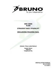 [DHAV_9290]  SRE 3000 INSTALLATION MANUAL 05 13 2015 : Free Download, Borrow, and  Streaming : Internet Archive | Bruno Wiring Diagram |  | Internet Archive