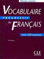 Vocabulaire Progressif Du Francais Avance Free Download