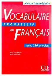 Vocabulaire Progressif Du Francais Intermediaire Claire