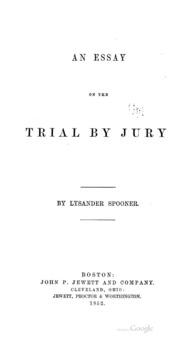 Jury service essay