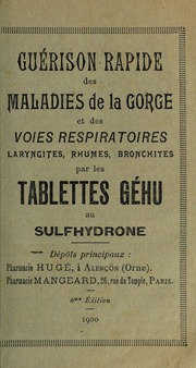 Guérison rapide des maladies de la gorge et des voies respiratoires ...