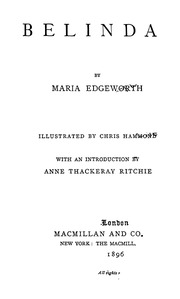 belinda edgeworth maria