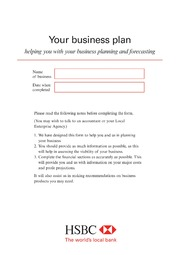 Business plans hsbc business plan free download borrow and business plans hsbc business plan free download borrow and streaming internet archive accmission Choice Image