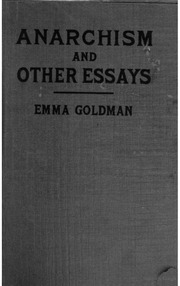 emma goldman anarchism and other essays sparknotes