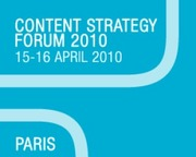 Content Strategy Forum 2010 Videos