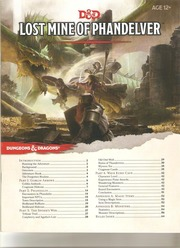 Dnd 5ed Adv Lost Mine Of Phandelver Free Download Borrow And