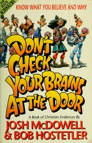 Donu0027t Check Your Brains At The Door : McDowell, Josh : Free Download,  Borrow, And Streaming : Internet Archive