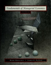 Fundamentals of managerial economics hirschey mark free fundamentals of managerial economics hirschey mark free download borrow and streaming internet archive fandeluxe Choice Image