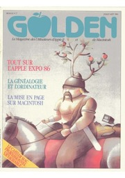 Golden Magazine (French) (Apple-Related)