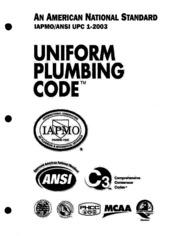 California plumbing codes