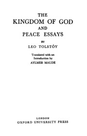 The Kingdom Of God And Peace Essays  Maude Aylmer Tr  Free  The Kingdom Of God And Peace Essays  Maude Aylmer Tr  Free Download  Borrow And Streaming  Internet Archive Essay Of Science also Examples Of A Thesis Statement In An Essay  How To Write An Essay For High School