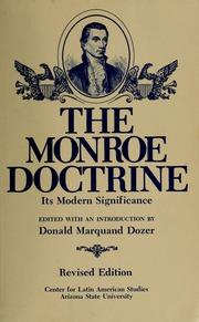 monroe doctrine significance