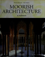 moorish architecture in andalusia barrucand marianne free